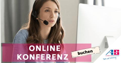 Online Konferenz buchen